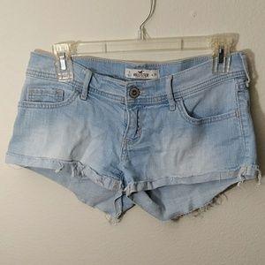 Hollister California Light Denim Shorts